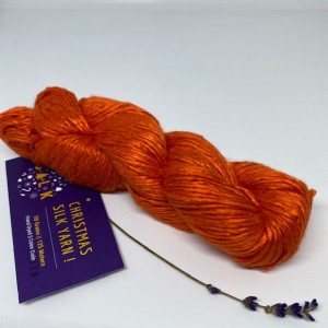 Włóczka Christmas Silk Orange