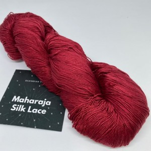 Włóczka Maharaja Silk Lace 40 Dark Red