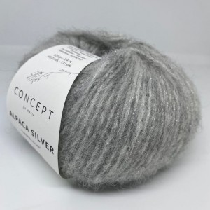 Włóczka Alpaca Silver 255 Light Grey