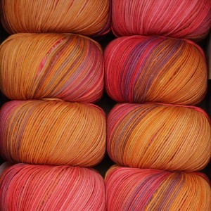 Włóczka Bio Cotton Color 106 Papaya