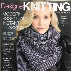 Magazyn Designer Knitting Early Winter 2016